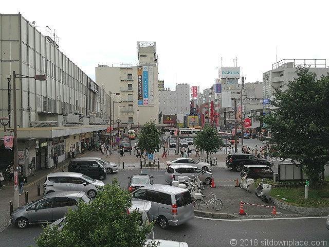 大宮駅東口の景観