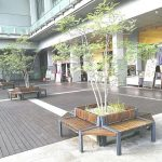 【大宮駅】シーノ大宮 センタープラザ アトリウムの休憩場所