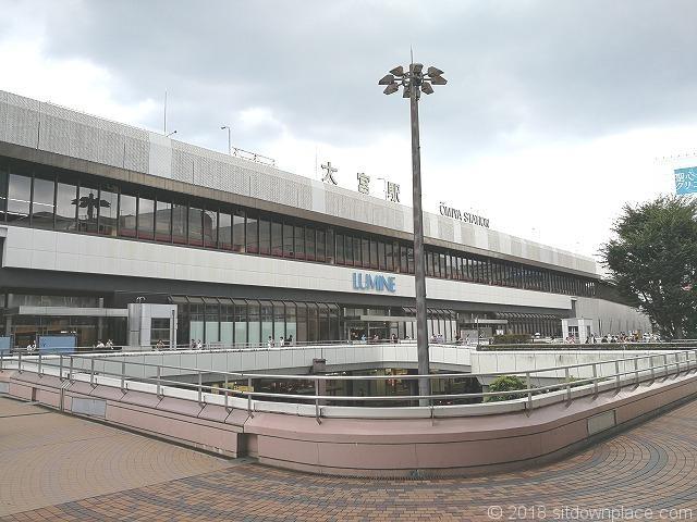 大宮駅西口ペデストリアンデッキ