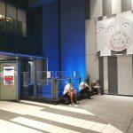【渋谷駅】渋谷ヒカリエB3F 出入口付近の休憩場所