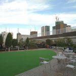 【渋谷駅】東急本店 屋上庭園の休憩場所