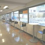 【渋谷駅】東急本店 RF エレベーター付近の休憩場所