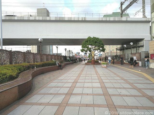 田端ふれあい橋の景観