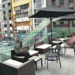 【銀座駅】GINZA SIX(銀座シックス)2F 三原テラスの休憩場所