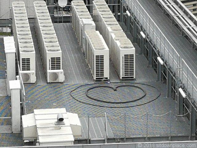 銀座シックス屋上庭園から見える恋のスポット詳細