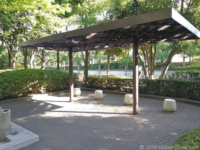 新浜公園のパーゴラ