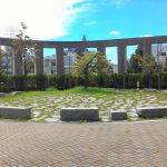 【御茶ノ水駅】明治大学リバティータワー裏 公開空地の休憩場所