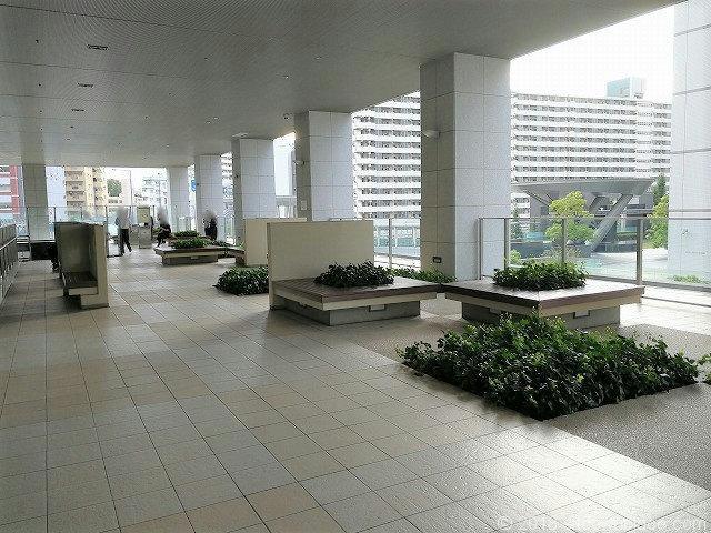 大崎センタービル2fの休憩所