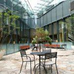 【大崎駅】ThinkPark Plaza(シンクパークプラザ)パティオの休憩場所