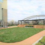 【下北沢駅】北沢タウンホール 屋上庭園の休憩場所