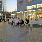 【品川駅】品川駅前デッキ