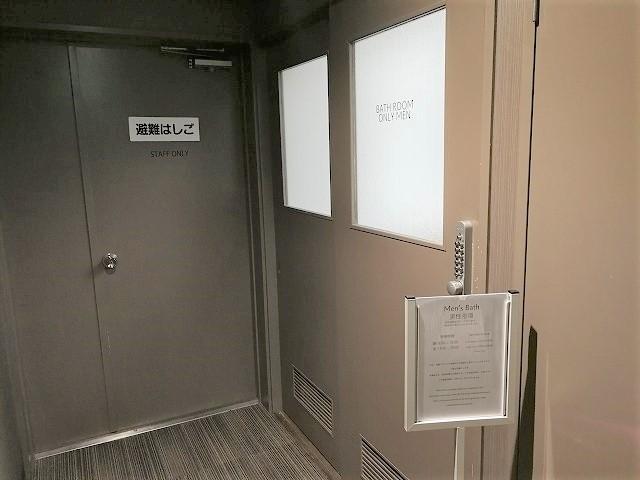 COCO STAY大浴場入口