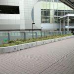 【京急蒲田駅】ペデストリアンデッキの休憩場所