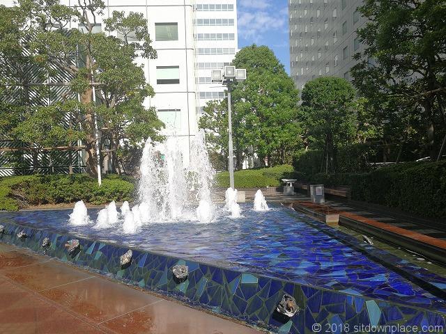 大崎ニューシティ パティオの噴水