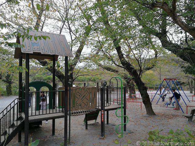 洗足池公園の遊具