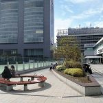 【新宿駅】バスタ新宿 3F 高速バスおりば デッキ