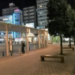 【武蔵小金井駅】宮地楽器ホール前の休憩場所