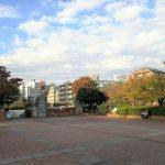 【中目黒駅】目黒川船入場 広場の休憩場所