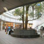 【中目黒駅】中目黒GT プラザ広場の休憩場所
