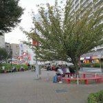 【王子駅】王子駅前公園の休憩場所