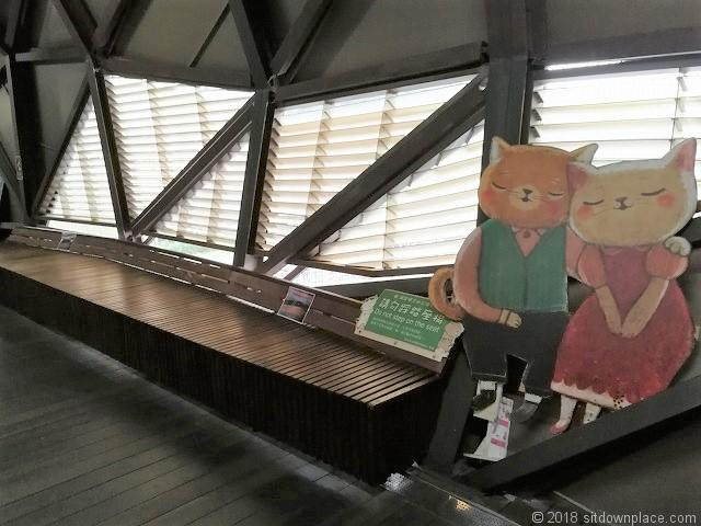 猴硐駅の猫夫婦