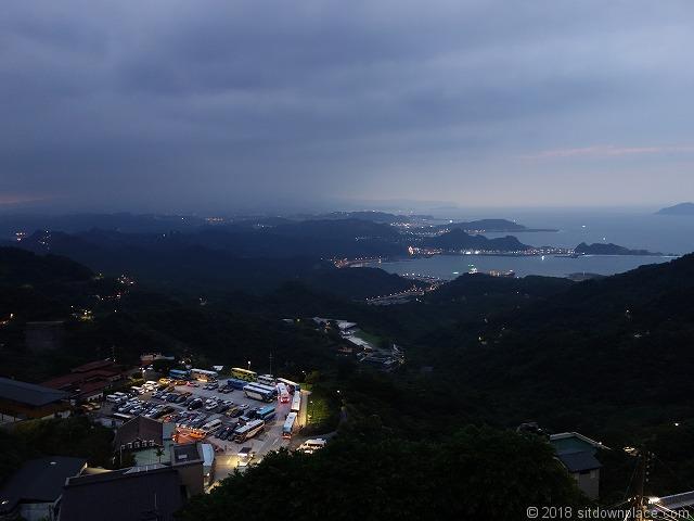 基山観海亭からの夜景