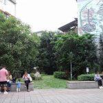 【東門駅】永康街 公園広場の休憩場所
