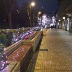 【飯田橋駅】ラムラ 屋外通路の休憩場所