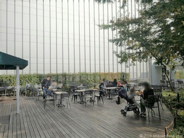 コピス3F 吉祥空園テラスの休憩所