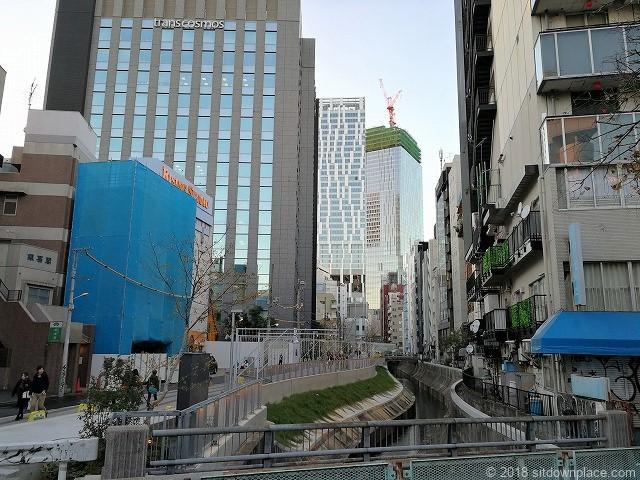 渋谷川沿いの景観