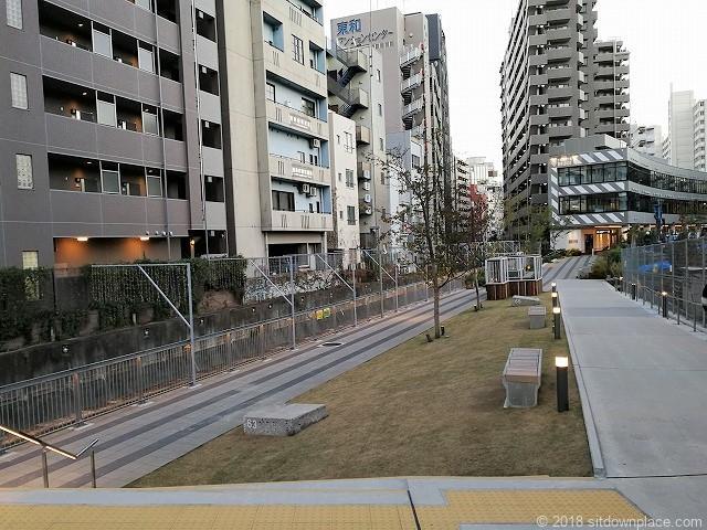 渋谷ブリッジ付近