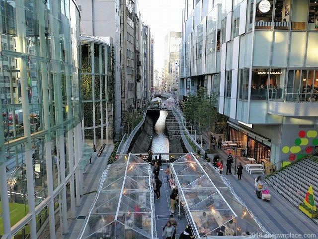 渋谷ストリームの景観