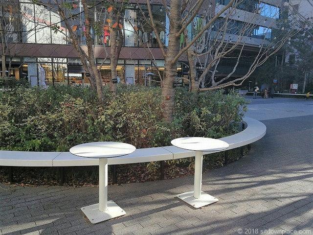 渋谷キャストのテーブル席