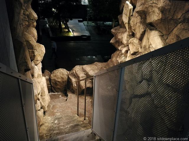 汐の公園品川セントラルガーデンの高輪の大木戸