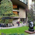 【東京駅】丸の内ブリックスクエア ガーデンの休憩場所
