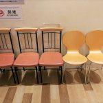 【横浜駅】マルイシティ横浜 4F,6F化粧室付近の休憩場所