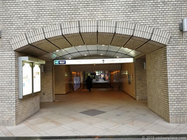 赤坂駅5a出口