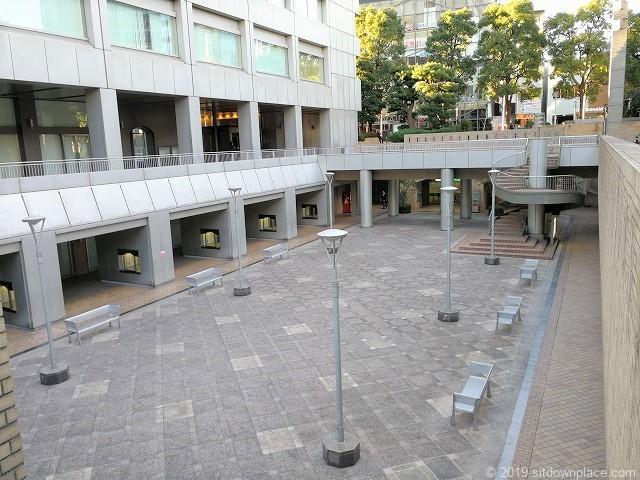 国際新赤坂ビル西館リフレッシュ広場
