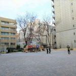 【秋葉原駅】芳林公園の休憩場所