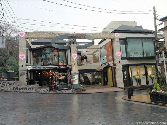 元町パセオの外観