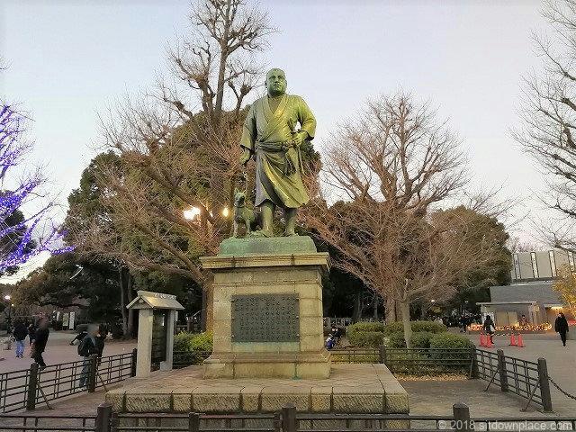 上野恩賜公園西郷隆盛の像
