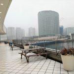 【横浜駅】ベイクォーター 4F デッキの休憩場所