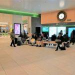 【千葉駅】ハスの時計 中央改札前の休憩所