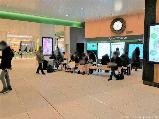 千葉駅ハスの時計