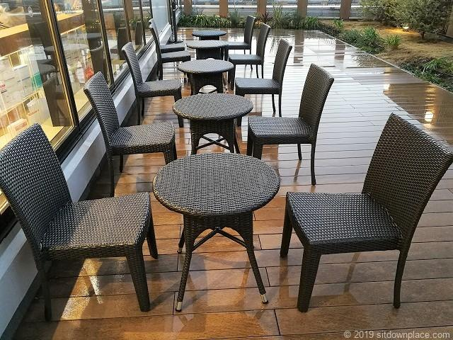 ペリエ千葉6Fペリエテラスのテーブル席
