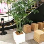 【千葉駅】ペリエ千葉 3F Bエスカレーター横の休憩場所