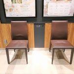 【千葉駅】ペリエ千葉 4F Eエスカレーター横の休憩場所