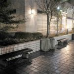 【千葉駅】センシティータワー4F モノレール連絡テラスの休憩場所