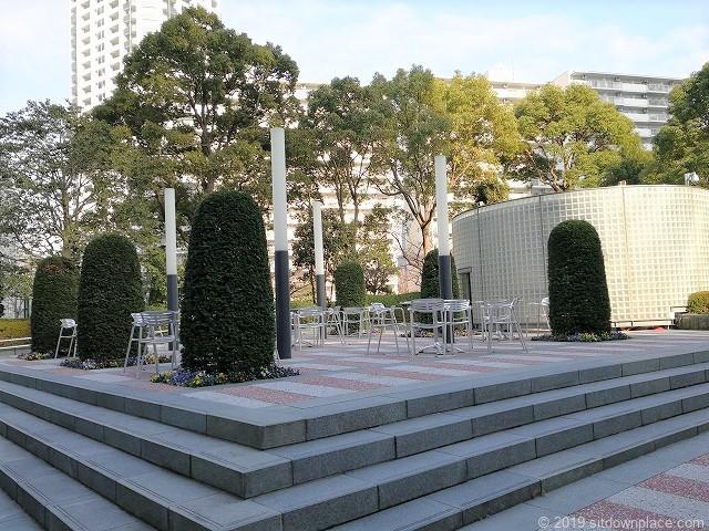 ゲートシティ大崎ノースガーデンの景観