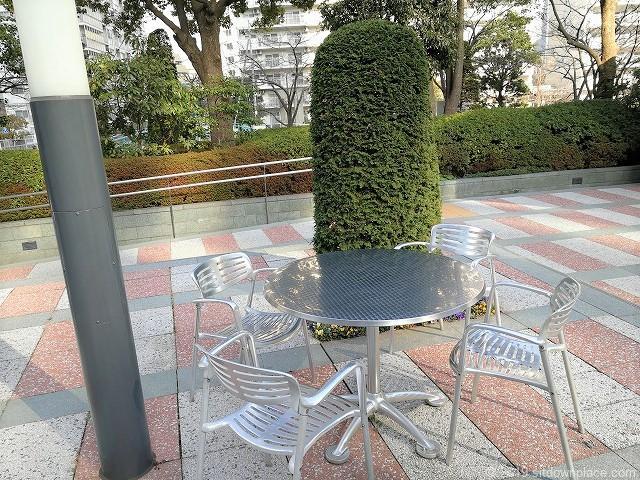 ゲートシティ大崎ノースガーデンのテーブル席